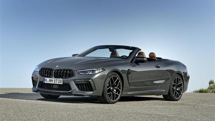 BMW M8 Convertible M8 Competition 2 Doors Step Auto