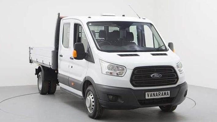 Ford Transit 350 L3 Rwd 2.0 EcoBlue 130ps Double Cab Tipper [1 Way]