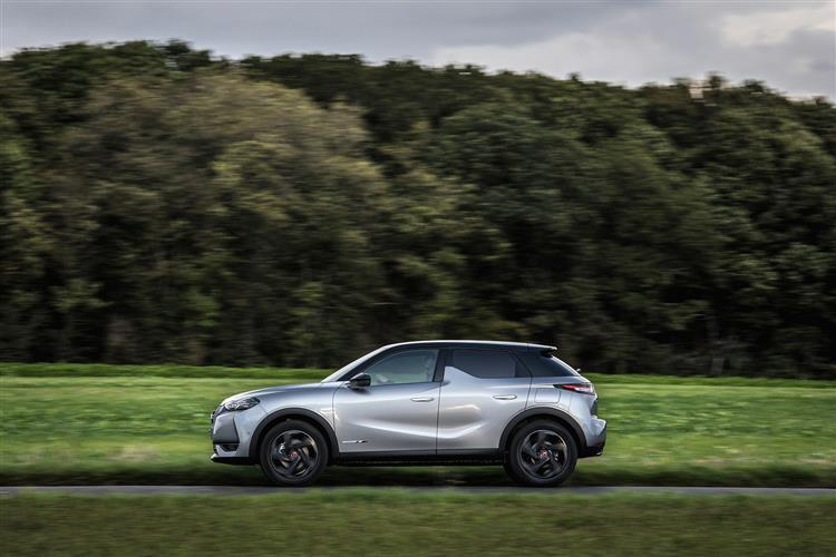 DS DS 3 Electric Crossback Hatchback 100kW E-TENSE Performance Line 50kWh 5 Doors Auto