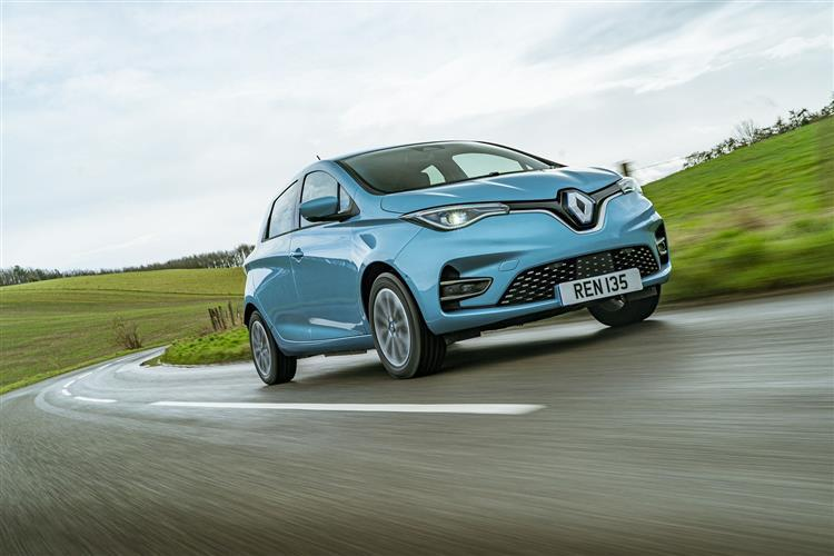 Renault Zoe Electric Hatchback 100KW i GT Line R135 50KWh Rapid Charge 5dr Auto