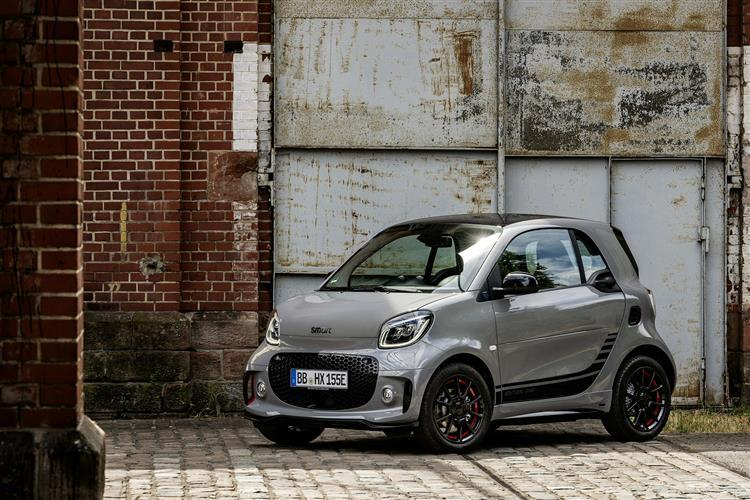 Smart Fortwo Electric Coupe 60kW EQ Exclusive 17kWh 2 Doors Auto [22kWCh]