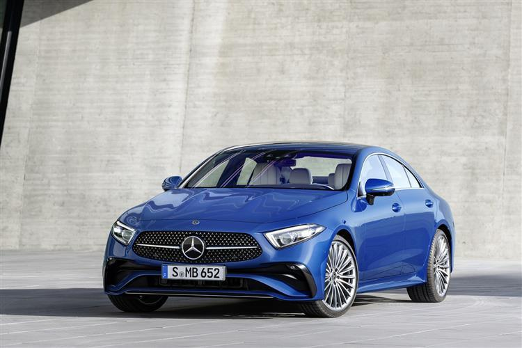 Mercedes-Benz CLS Coupe CLS 300d 4Matic AMG Line Ngt Ed Pr + 4dr 9G-Tronic