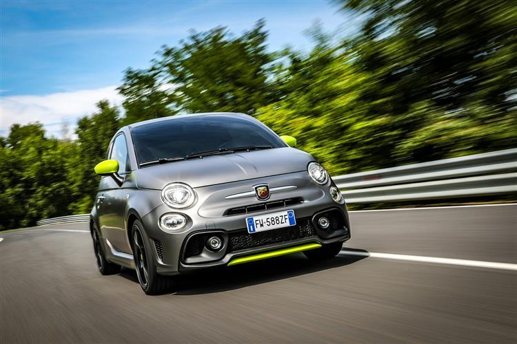 Abarth 595 Hatchback 1.4 T-Jet 180 Essesse 70th Anniversary 3 Doors Auto