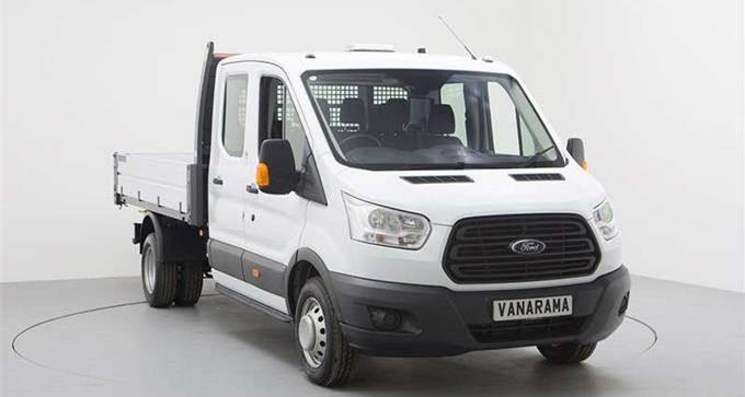 Ford Transit 350 L3 Rwd 2.0 EcoBlue 130ps Double Cab Chassis