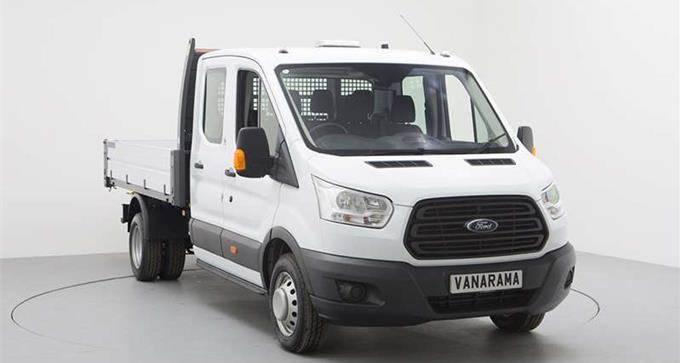 Ford Transit 350 L3 Rwd 2.0 EcoBlue 170ps Double Cab Tipper [1 Way]